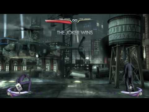 Injustice: Gods Among Us Sick Arkham Joker