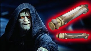All the Lightsabers Darth Sidious Used During his Life - Explain Star Wars