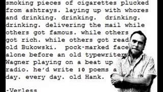 Charles Bukowski on Ezra Pound John Fante and other assorted things