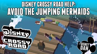 How To Avoid The Jumping Mermaids On Disney Crossy Road's Weekend Pirates Challenge!