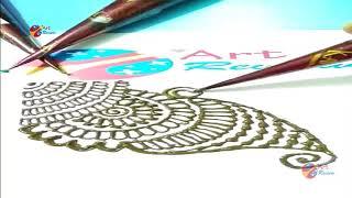 How to make henna Mehndi Designs for Bridal ❤❤ Simple Mehendi Design 2018 series VII