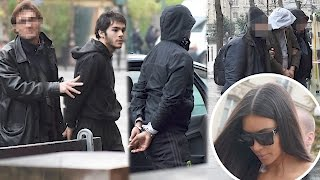 Photos of Kim Kardashian's Alleged Paris Robbers | Splash News TV