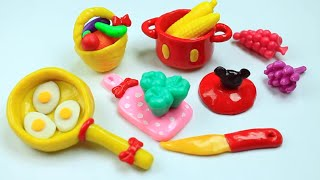 How to Make Miniature Kitchen / Cooking  Stuff  - Easy Doll Crafts - simplekidscrafts