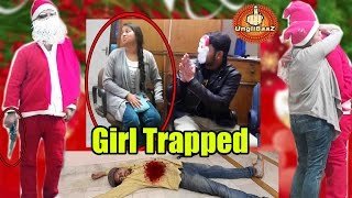 Girl Trapped By Killer Santa Claus   Christmas special Pranks in India 2016   Unglibaaz