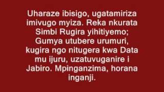 Kizito Mihigo - IGISINGIZO CYA BIKIRA MARIYA
