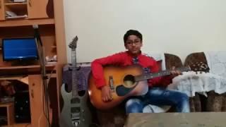 Mere Rashke QamarRemix guitar cover by Rio