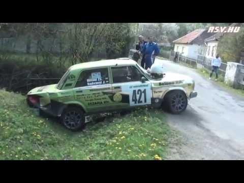 Lada rally crash 2015