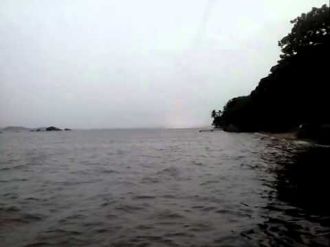 Tromba d água na Ilha de Paquetá 05 de Janeiro de 2015