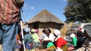 Rev  Walter Sithole preaching in Zimbabwe