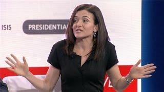 Sheryl Sandberg Says Facebook Increases Voter Turnout