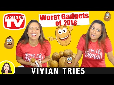 WORST AS SEEN ON TV PRODUCTS OF 2016 | YEAR IN REVIEW