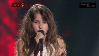 Adele-'Hello'.The Voice Kids Russia 2016.Maria.