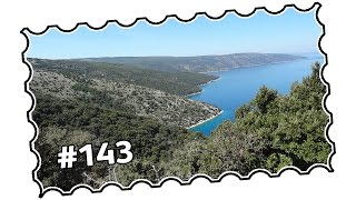 MTB Street view #143 - Croatia, Kvarner Bay area - Cres island offroad to Vransko lake (08/2015)