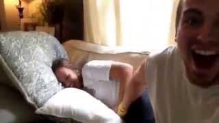 Nap vs tickle monster!