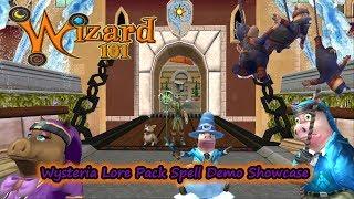 Wizard101 - Wysteria Lore Pack New Spells  Pigsie, Ninja Piglets, Angry Snowpig