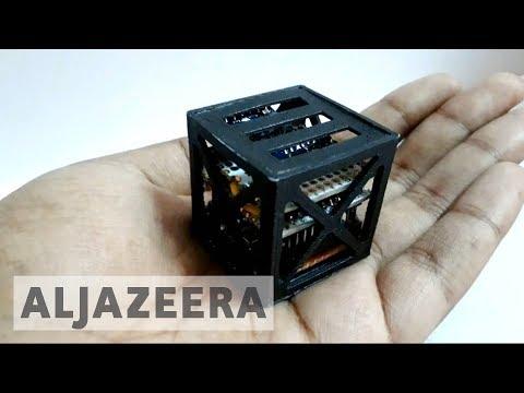 Xxx Mp4 Indian Students' 3D Printed Satellite Takes Flight 3gp Sex