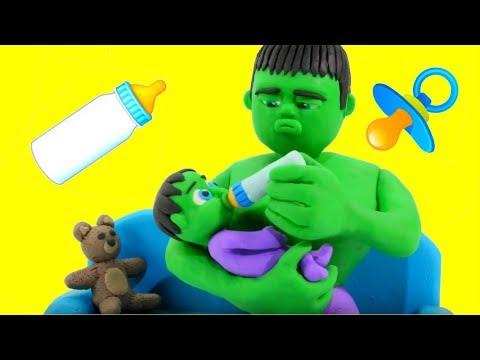 Xxx Mp4 HULK BABY SITTER ❤ Frozen Elsa Superhero Babies Play Doh Cartoons For Kids 3gp Sex