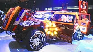 ISUZU PANTHER di Modifikasi Ekstrim jadi mobil HUMMER (Pameran Mobil Modifikasi Indonesia)