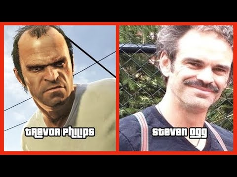 Characters and Voice Actors Grand Theft Auto V