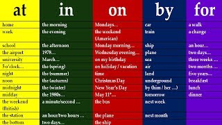 KEY TO ENGLISH PREPOSITIONS IN ENGLISH GRAMMAR.  LESSONS FOR BEGINNERS AND INTERMEDIATE LEVEL