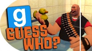 "Garry's Mod | ""Guess Who?"" (Bath Buddies!) w/ Delirious, Ohm, and Bryce (GMOD)"