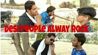 Desi people Always Rock !! Latest Funny Vedio !! feat Elwish Yadav fans