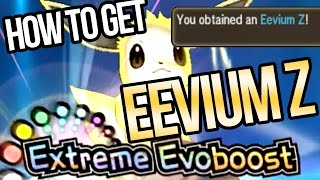How to Get Eevium Z, Z-Crystal for Extreme Evoboost in Pokemon Sun & Moon!