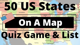 USA STATE MAP QUIZ GAME VIDEODOWNLOAD