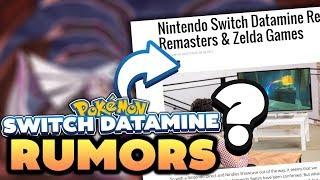 Pokémon Switch RUMOR! Nintendo Switch Data Miner Claims New Pokemon Switch Game Names!?