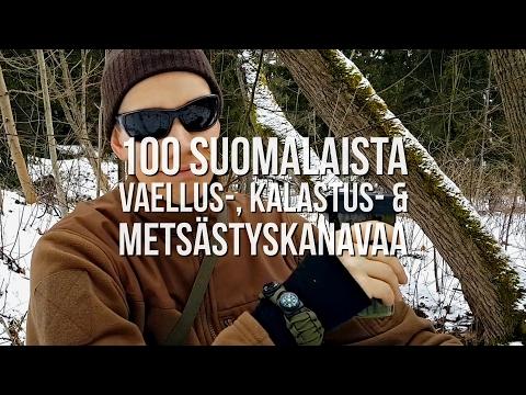 100 suomalaista vaellus-, kalastus- & metsästyskanavaa | #luonnonpäivät #suomi100