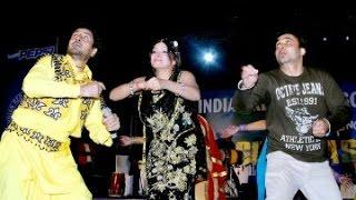 Gurdas Maan  Bhagwant Maan and Satinder satti Together on one satge