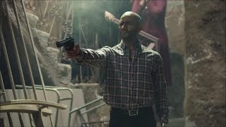 مسلسل الاسطورة - قتل عصام النمر على يد ناصر الدسوقي - محمد رمضان