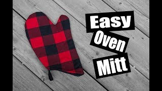 Easy Oven Mitt - Free Pattern Download!