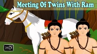Luv Kush - Meeting Of Twins With Ram - Short Story from Ramayana