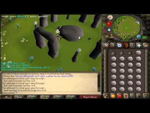 Runescape 2007 - My New Rebuilding Plan [1m Pure Essence Challenge?]