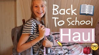 Back To School Haul 2K17 | Miek Jacobs