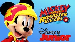 Mickey Mouse & The Roadster Racers Car Racing Disney Junior App For Kids