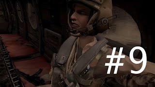 Call of Duty 4 Modern Warfare Walkthrough Gameplay Part 9 Campaign Mission 9 [ Shock and Awe ]