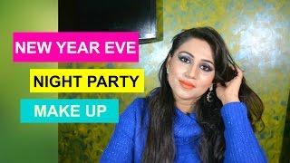 New Year Eve Makeup For Indian Skin | Holiday makeup look | Party makeup | Makeup ideas