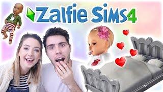 Zoe Is Pregnant! | Zalfie Sims Edition [16]