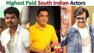 Top Most  Highest Paid South Indian Actors  2016  (H D )