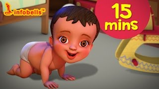 சாய்ந்தாடம்மா and more | Tamil Rhymes & Baby Songs Collection | Infobells