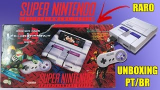 Caixa de Pandora Especial - Super Nintendo - Killer Instinct Set - Review