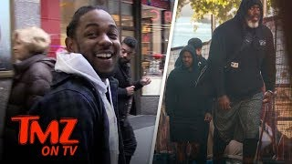 Kendrick Lamar Has A MASSIVE Bodyguard | TMZ TV