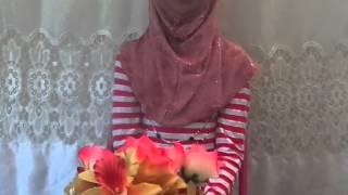 Suhana Hafiz is reading surah As-sajdah