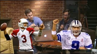 Better Career: Tony Romo or Carson Palmer?