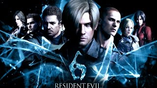Resident Evil 6 The Animated Movie  (Resident Evil 6 Game All Cutscenes)