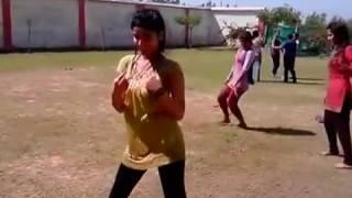 Collage Hostel Girl Sexy Dance. Song Kata laga
