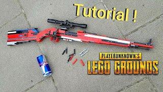 Working LEGO Kar98k Tutorial / Instruction