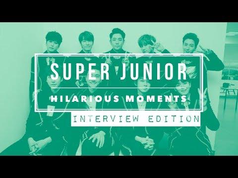 SUPER JUNIOR Hilarious Moments Part 1 Interview Edition